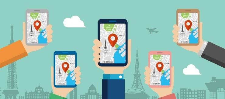 Google Haritalar Hizmetinden Bir E-Posta'nız Var