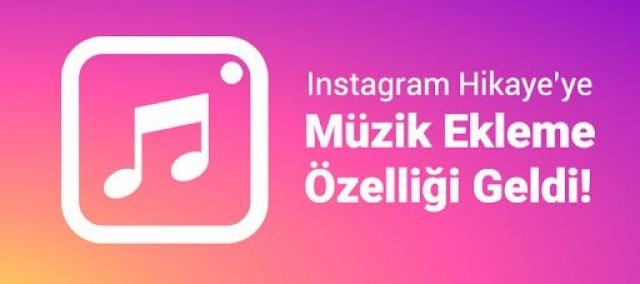 Instagram Hikaye'ye Müzik Ekleme Özelliği Geldi!