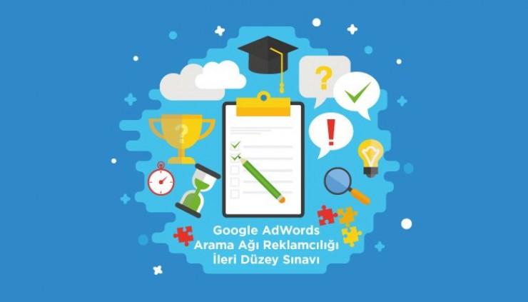 Google AdWords Arama Ağı Reklamcılığı İleri Düzey Sınavı