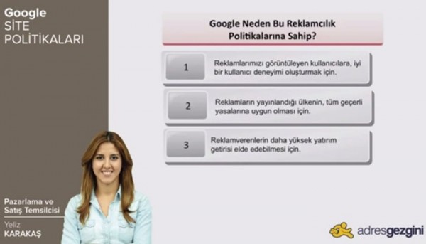 Google Site Politikaları [Video]