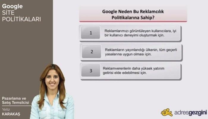 Google Site Politikaları [Video]