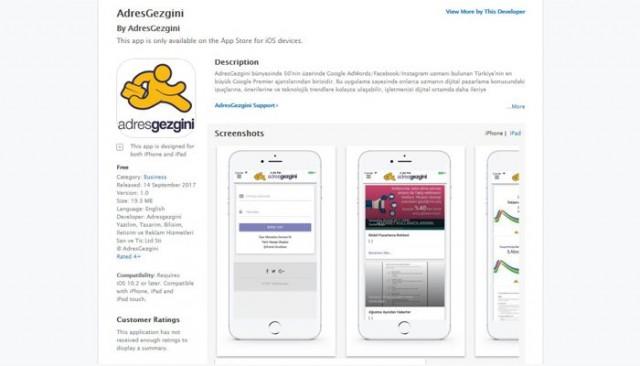 AdresGezgini Blog Uygulaması App Store ve Play Store'da!