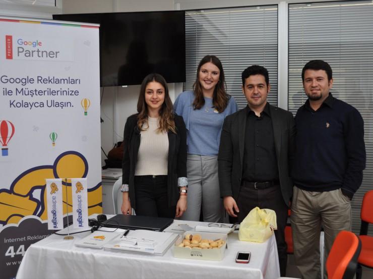 Adnan Menderes Üniversitesi Kariyer Gününde'ydik
