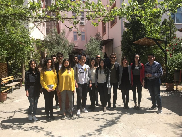 Dokuz Eylül Üniversitesi İşletme Öğrencileriyle Buluştuk