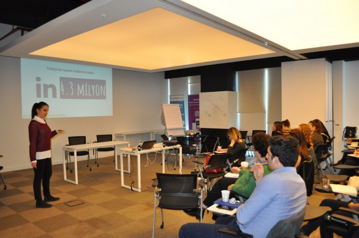 Sosyal Medya Eğitimi için Kariyer.net'deydik