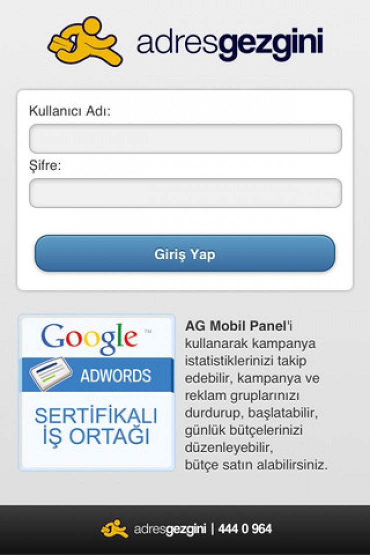 AdresGezgini Mobil Panel App Store da Yayında.