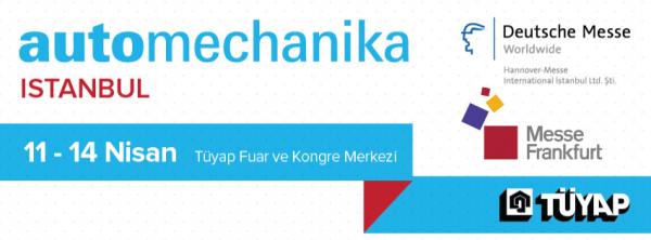 Automechanika İstanbul Fuarı Online Reklam ve Sosyal Medya Destekçisiyiz.