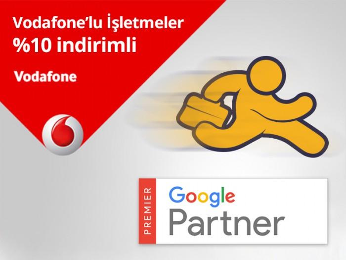 Vodafone Abonesi İşletmelere AdresGezgini'nden %10 İndirim Hediye!