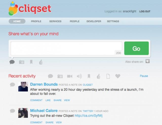 Cliqset.com: Sosyal Ağ Hesaplarınızı Bir Arada Tutun!