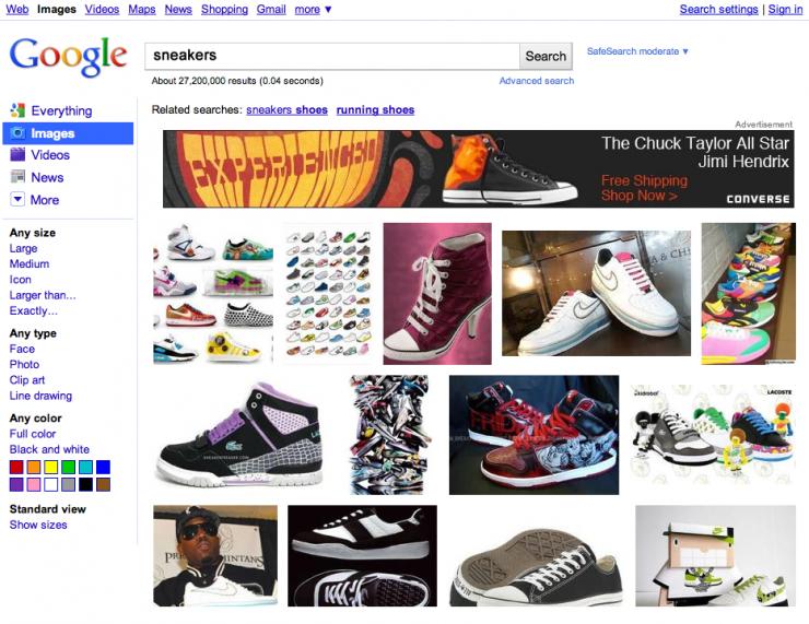 Google Görseller: Görüntülü Reklam Denemesi