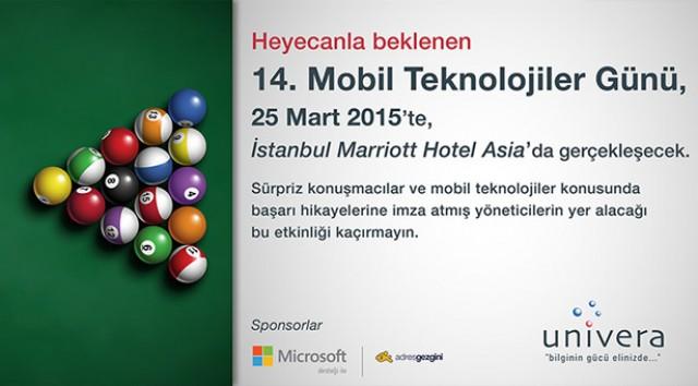 14. Mobil Teknolojiler Günü Bilişim Sponsoruyuz
