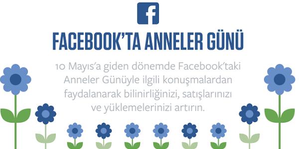 Facebook'tan Anneler Günü İnfografiği