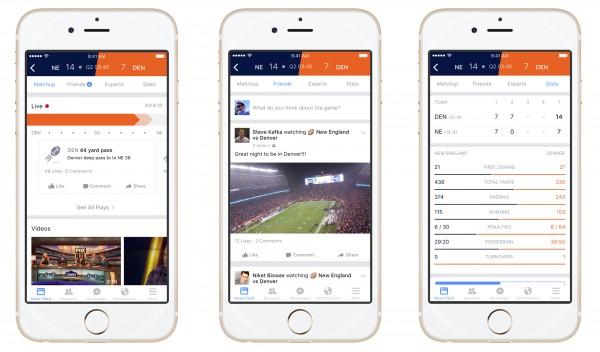 Facebook'tan Canlı Maç Takibi Özelliği: Sport Stadium