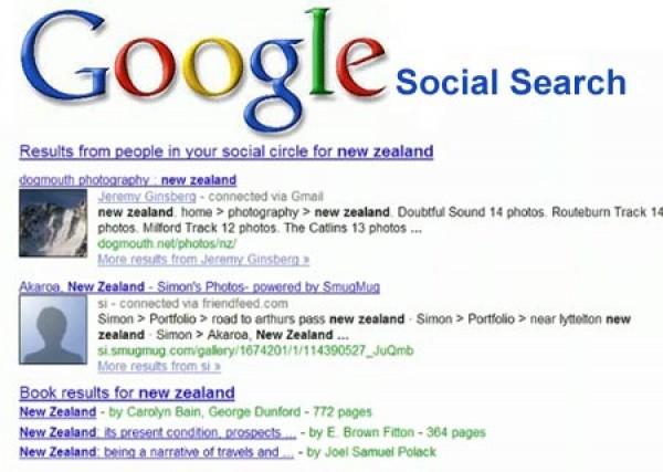 Google'ın Sosyal Arama Özelliği Google Social Search