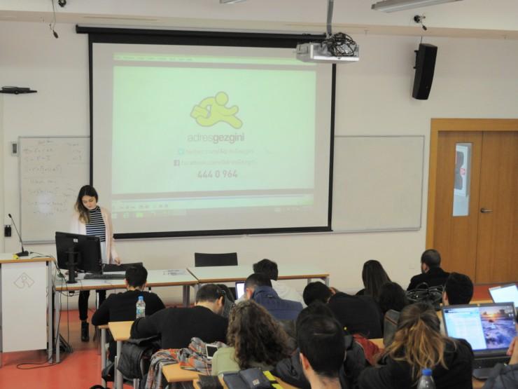 İzmir Ekonomi Üniversitesi'nde Mühendislik Öğrencileriyle Buluştuk