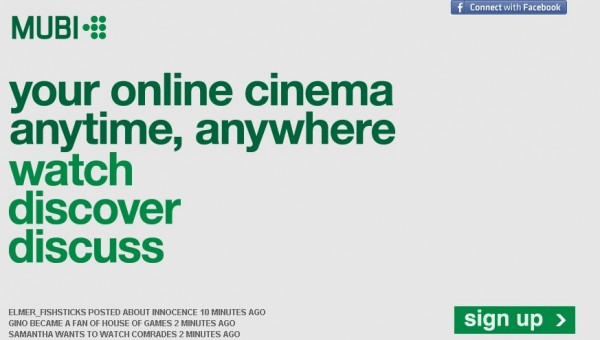 MUBI: Film Severleri Buluşturan Sosyal Ağ