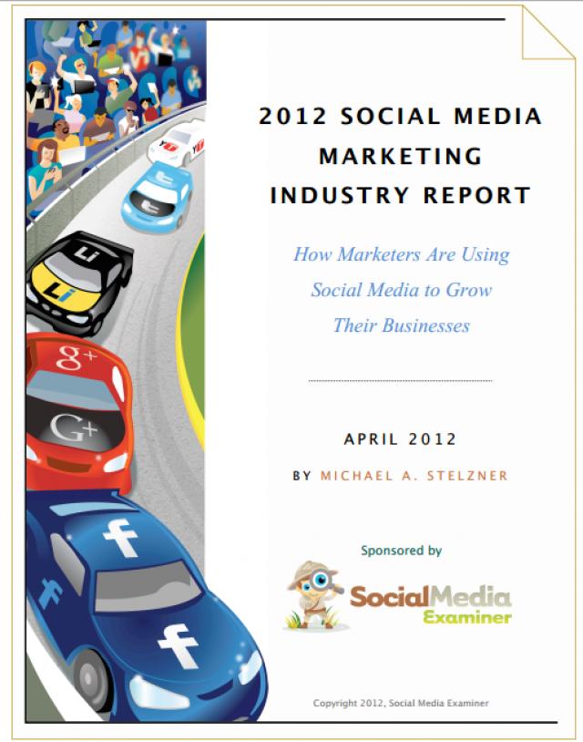 2012 Sosyal Medya Pazarlama Raporu Analizi